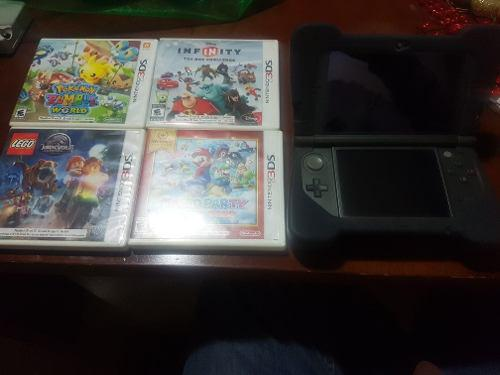Nintendo 3ds con video juegos
