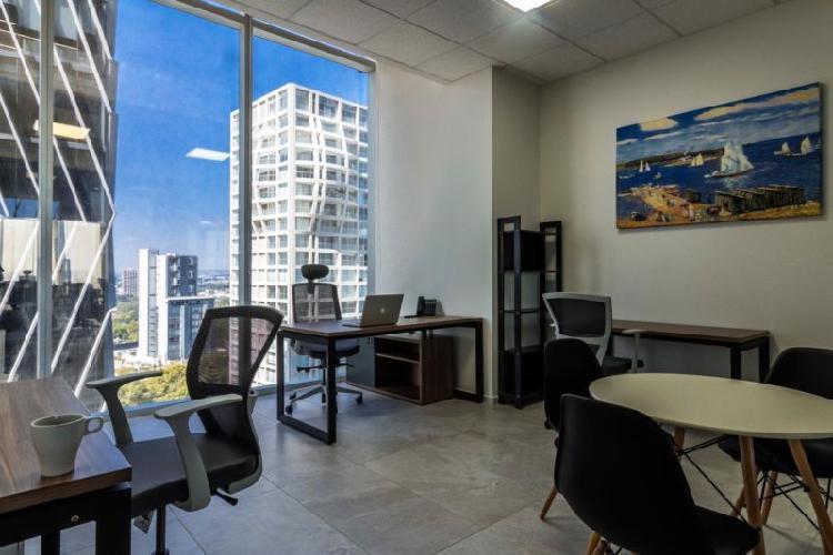 Renta de oficina física $9,900 mensual en la mejor zona