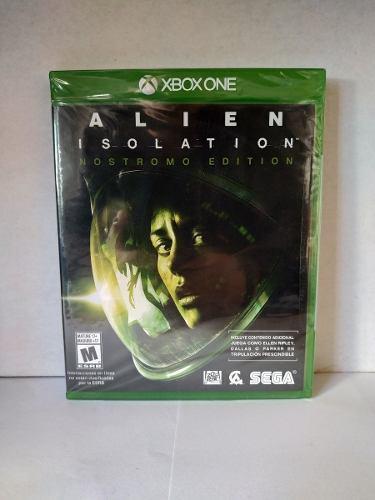 Alien isolation nostromo ed. xbox one nuevo envio gratis