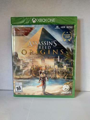 Assassins creed origins xbox one nuevo envio gratis