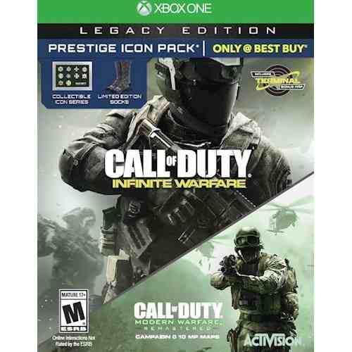 Call of duty: infinite warfare legacy edition prestige