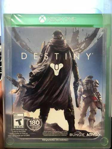 Destiny xbox one juego físico nuevo sellado envío gratis
