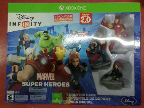 Disney infinity 2.0 marvel heroes starter pack xbox one:.