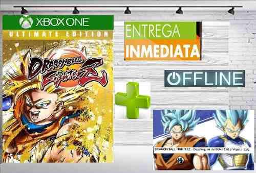 Dragon ball fighterz edición ultimate offline + ssb goku y