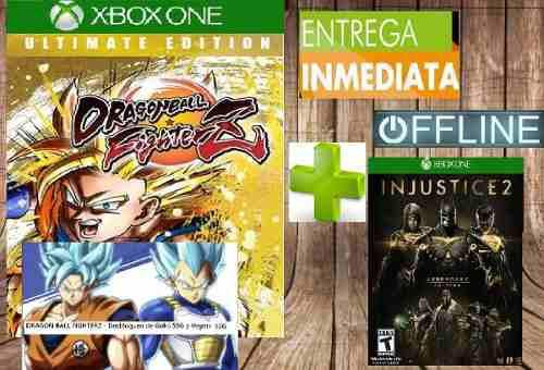 Dragon ball fighterz offline + injustice 2 legendary offline
