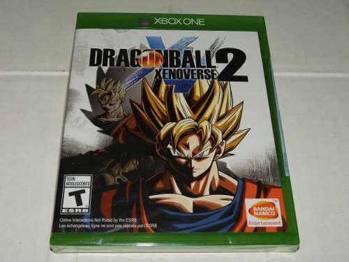 Dragon ball xenoverse 2 - para xbox one - sellado