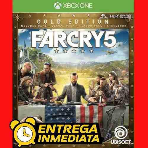 Far cry 5 oro gold xbox one digital offline no código