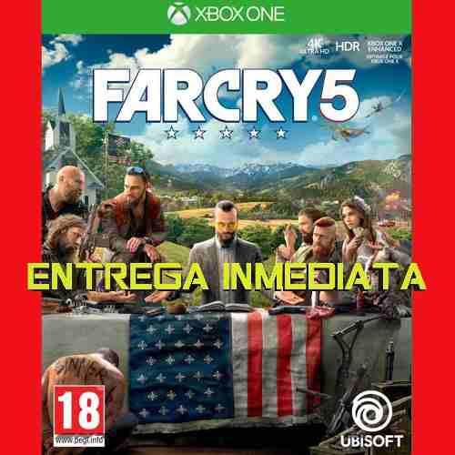 Far cry 5 xbox one licencia digital offline no código