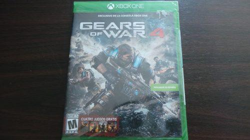 Gears of war 4 (saga completa) xbox one nuevo sellado