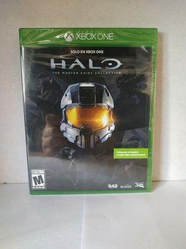 Halo the master chief collection xbox one nuevo envio gratis