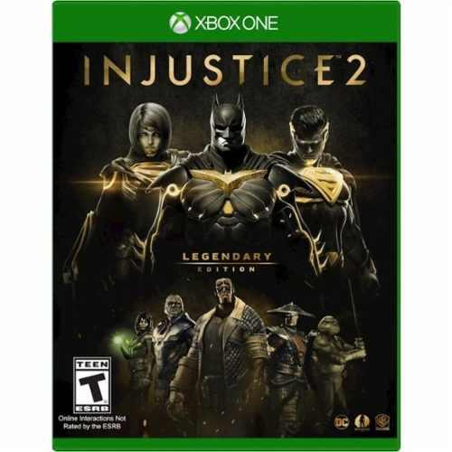 Injustice 2 - legendary edition - xbox one - nuevo y sellado