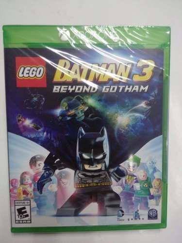 Lego batman 3 beyond gotham.-one