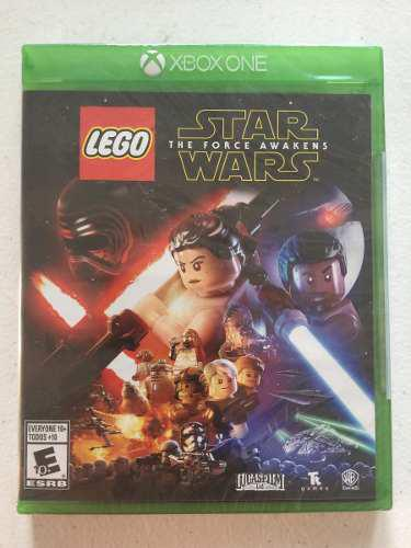 Lego star wars the force awakens xbox one disco fisico