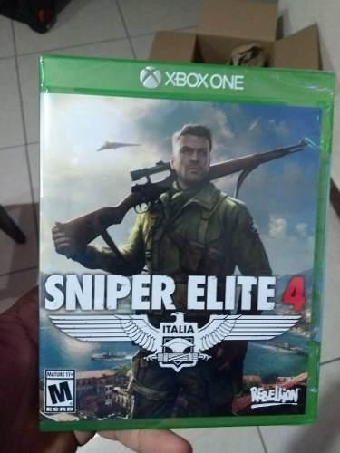 SNIPER ELITE 4 XBOX ONE D3 GAMERS segunda mano  México (Todas las ciudades)
