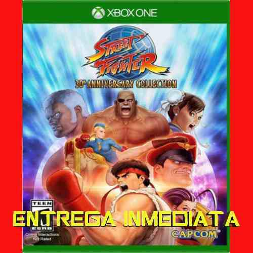 Street fighter 30 aniv collection xbox one offline no
