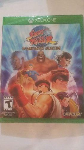 Street fighter 30 anniversary collection - xbox one - nuevo
