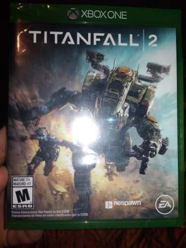 Titanfall 2 xbox one juego físico nuevo y sellado
