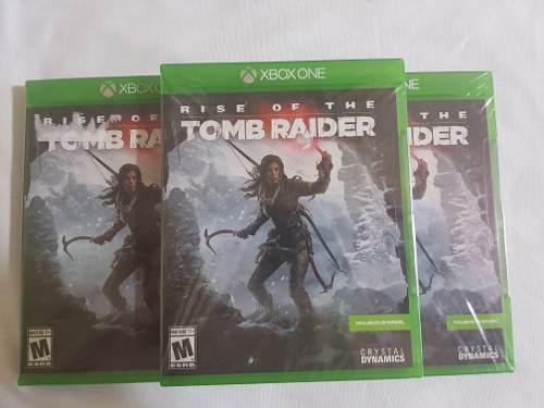 Tom raider xbox one rise of the nuevo sellado original