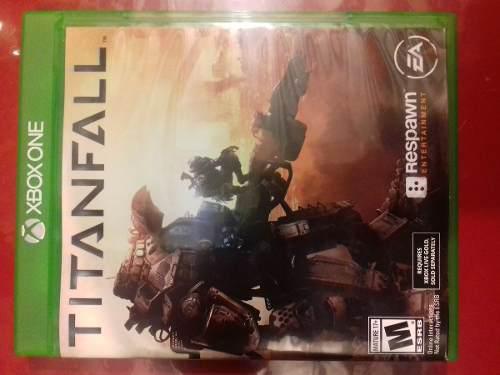Video juego para xbox one titanfall nuevo