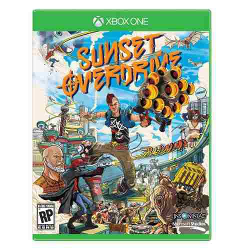 X box one video juego sunset overdrive