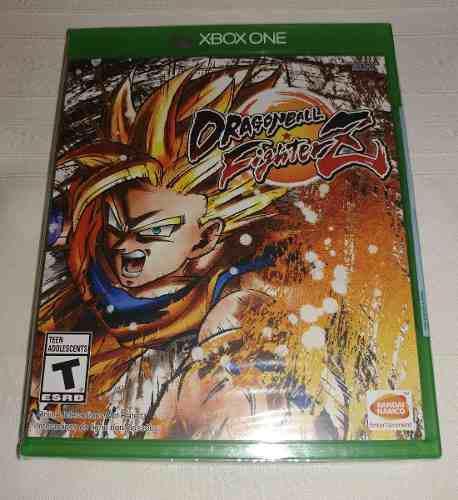 Xbox one dragon ball fighterz (fighter z) - fisico, nuevo