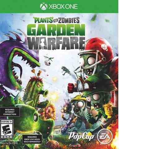 Xbox one juego plants vs zombies garden warfare.