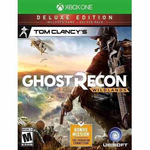 Xbox one juego tom clancy's ghost recon wildands deluxe edit