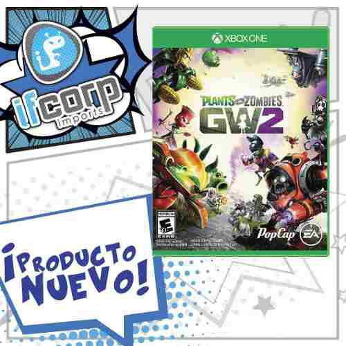 Xbox one plantas vs zombies garden warfare 2 gw2
