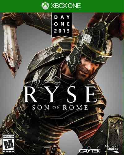 Xbox one - ryse - juego fisico (mercado pago y oxxo)