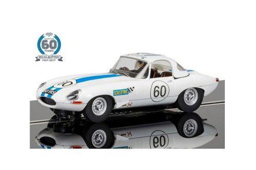 Auto scalextric escala 1/32 jaguar e-type car #6