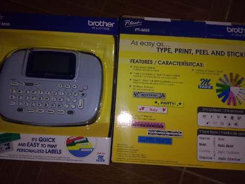 Brother ptm95 rotulador electrónico 4 pilas aaa gratis
