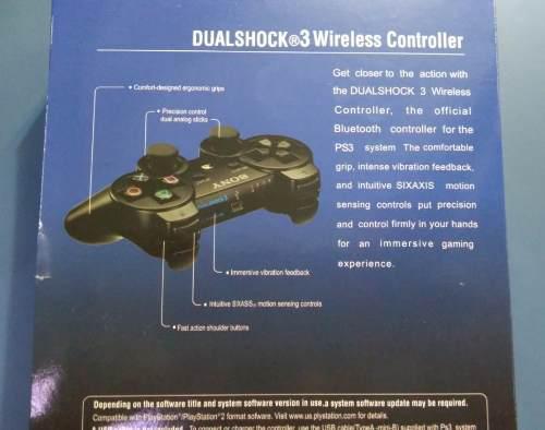 Control inalambrico dualshock 3 ps3