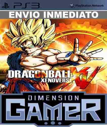 Dragon ball xenoverse + online ps3 licencia digital