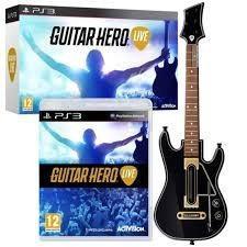 Guitar hero live para ps3 nuevo sellado::.. en bsg