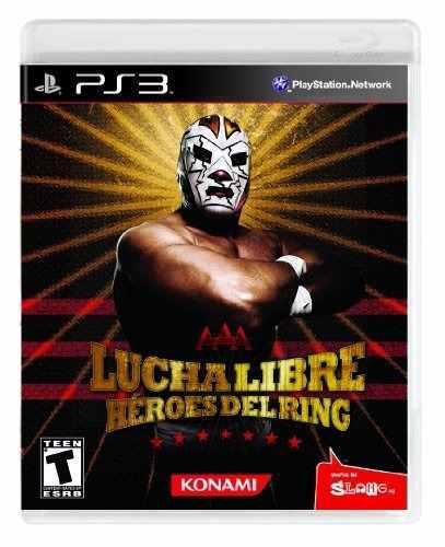 Lucha libre aaa heroes del ring ps3 nuevo playstation 3