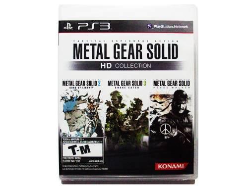 Metal gear solid hd collection nuevo ps3 - playstation 3