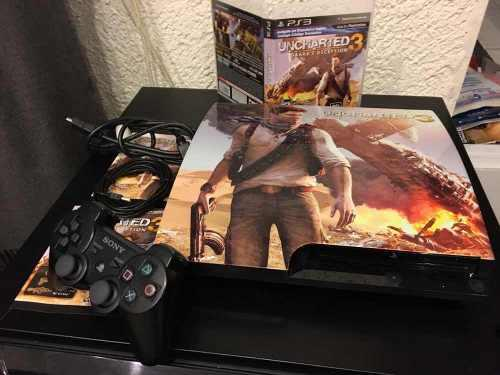 Play 3 edicion especial uncharted 3 en perfecto estado