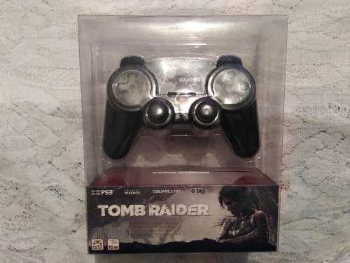 Ps3 control inalambrico edición especial tomb raider