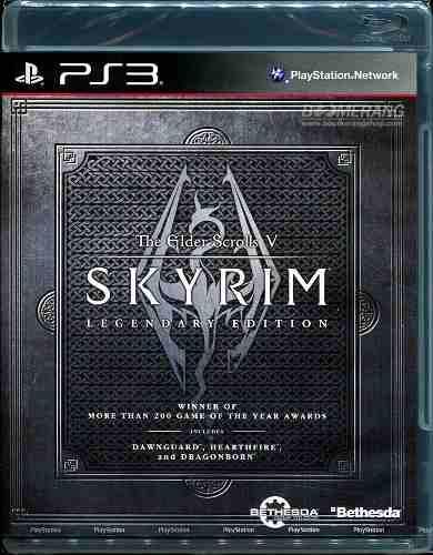 Skyrim legendary edition en español playstation 3 nuevo