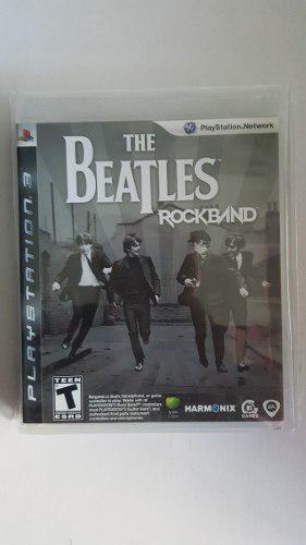 The beatles rock band para ps3 nuevo::..