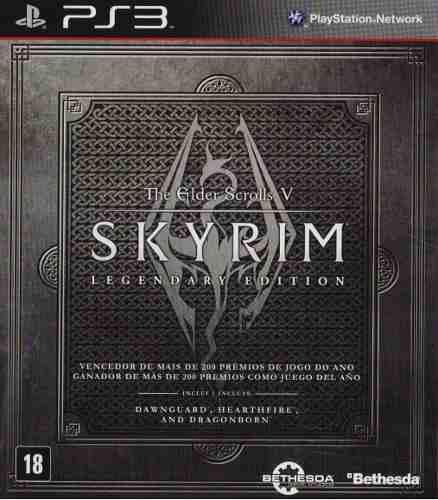 The elder scrolls v 5 skyrim legendary ed ps3 playstation 3