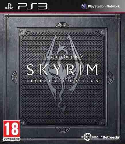 The elders scrolls v skyrim legendary edition ps3 en