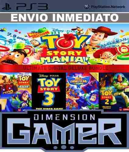 Toy story pack ps3 (5 juegos) psn store digital