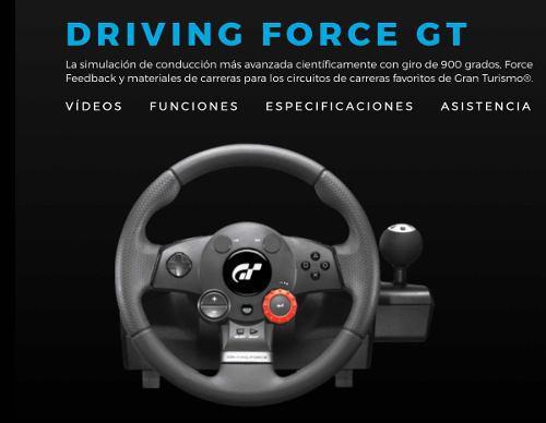 Volante logitech driving force pc/ps3. oferta!!