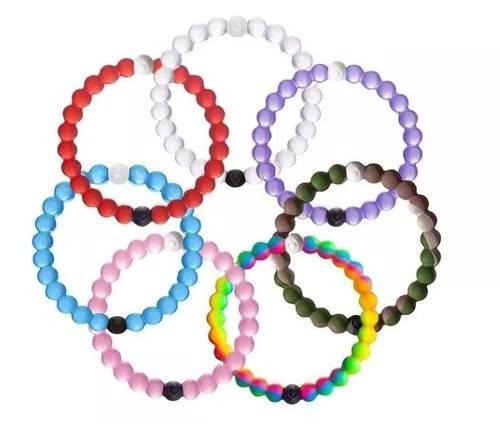 10 pulseras originales lokai mar muerto varios colores
