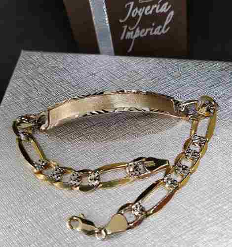 seleccione para genuino comprar baratas descuento Esclava Cartier Caballero 10k Combinado Oro Macizo