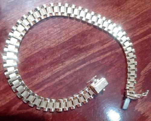Esclava pulsera de oro 14k tejido rolex envio gratis 44200c0bd8e