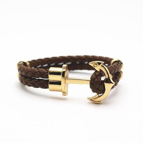 a35db5770197 Lote 10 pulseras brazalete ancla anzuelo miansai escogelas en México ...
