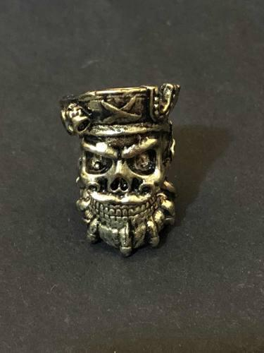 Pirata barba negra paracord pulseras dijes beads