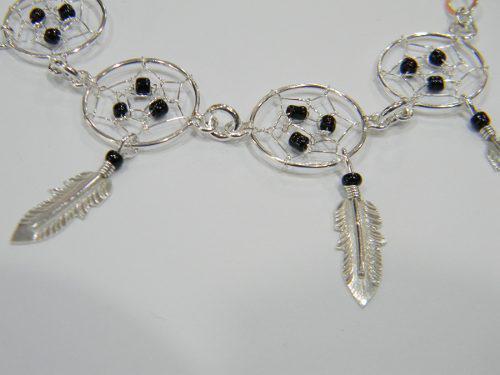 37b4a568fc Pulsera plata regalo mamá esposa novia mujer atrapa sueños